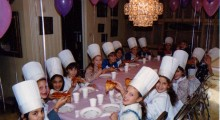 Children's Birthday Cooking Class