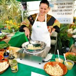 Cooking Demonstration at Long Island Small Farm Summit