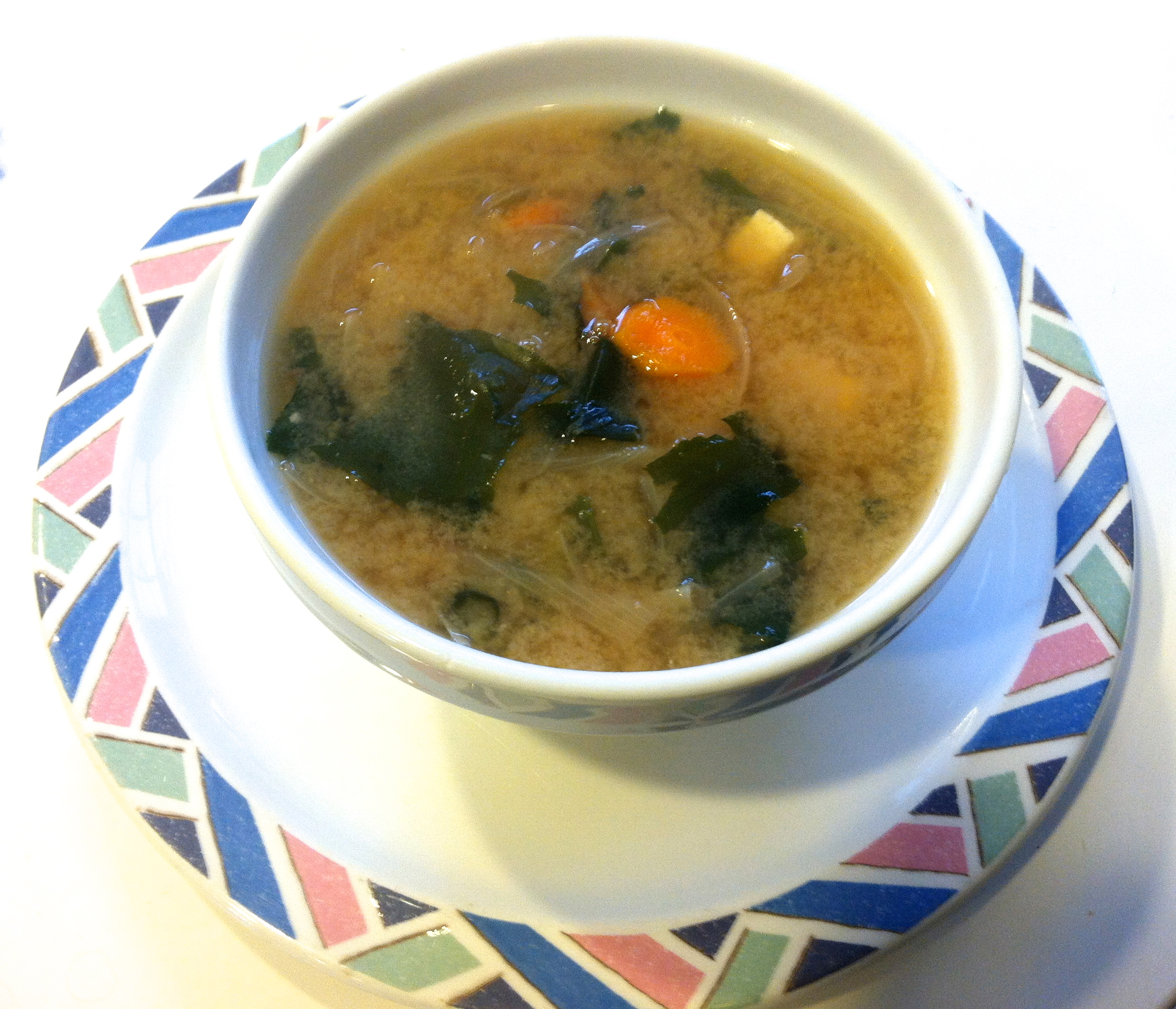 Recipe: Miso Soup with Wakame | iEatGreen
