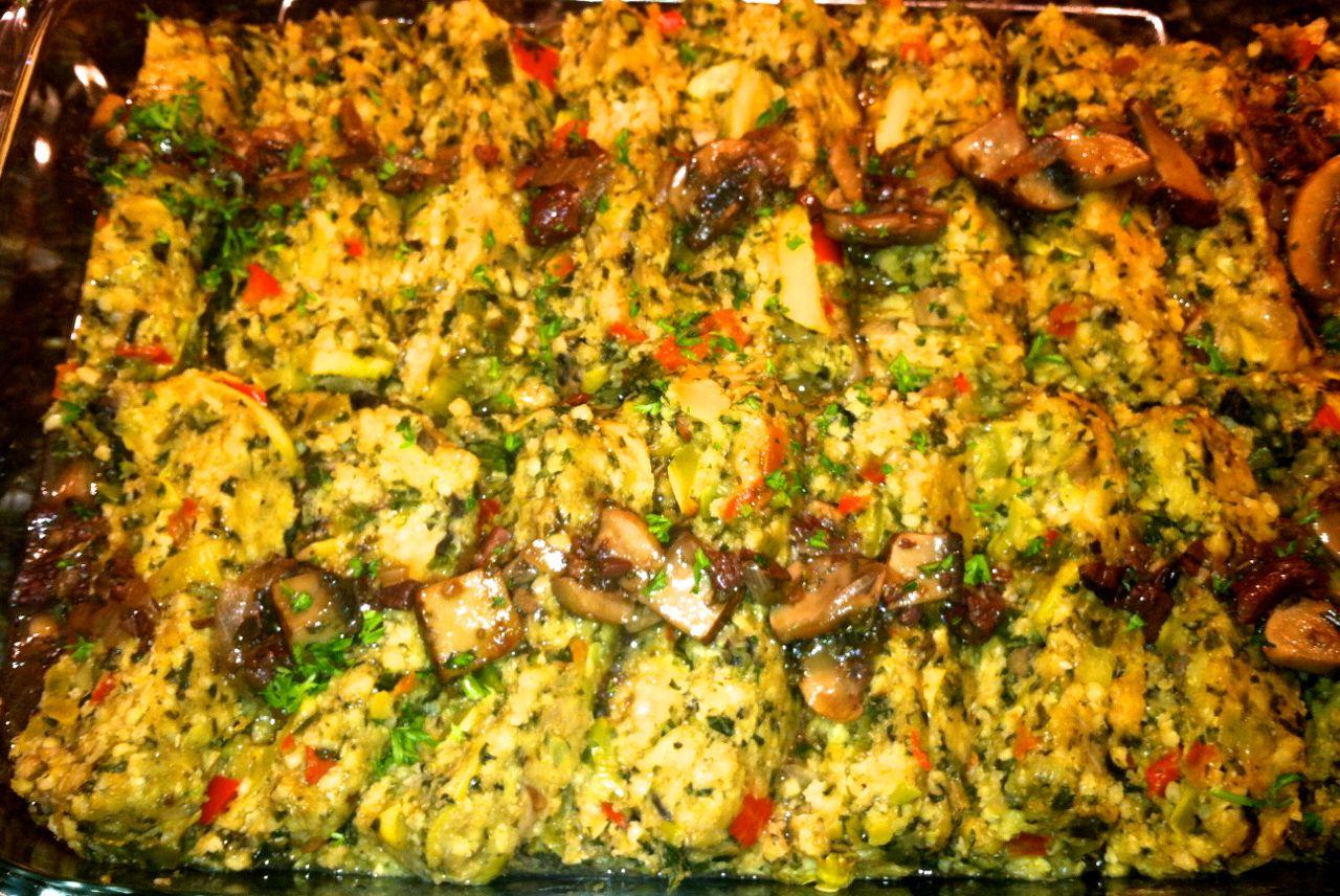 Recipe: Red Lentil and Amaranth Millet Loaf with Mushroom ...