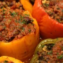 Image for Recipe: Stuffed Peppers with Quinoa