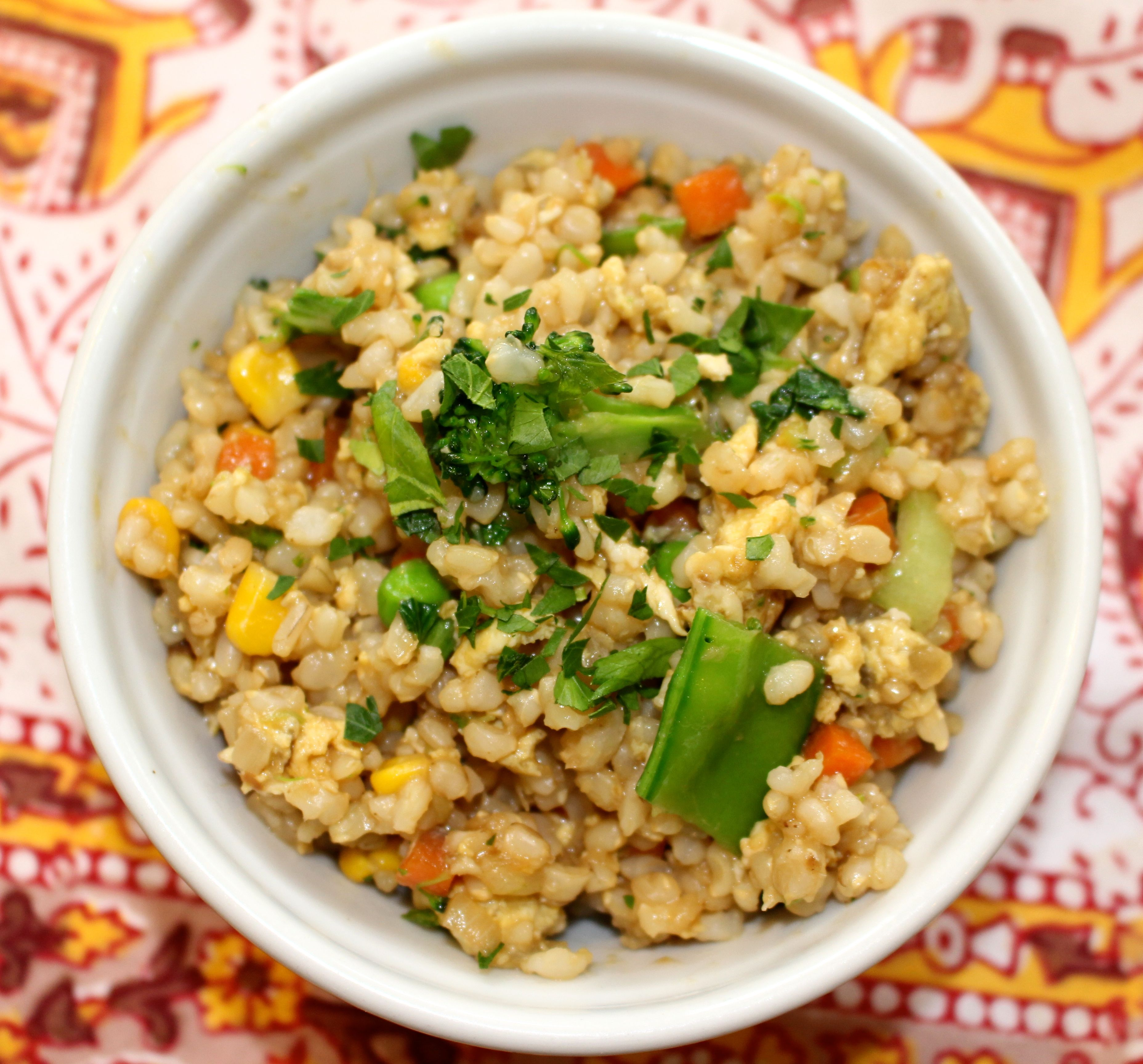 Recipe: Vegetable Fried Rice