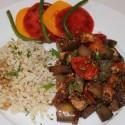 Image for Recipe: Mediterranean Tofu with Eggplant & Tomato