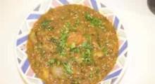 hearty lentil soup w kale