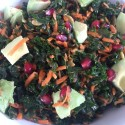 Image for Recipe: Wilted Kale Salad with Pepitas and Lemon Dressing