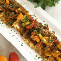 Image for Recipe: Tofu Cutlets with Cherry Tomatoes, Capers and White Wine