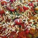 Image for Recipe: Vegan,GF, Eggplant Rollatini with Cashew Pesto Cream and Plum Tomatoes in White Wine
