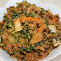Image for Recipe: Quick Garden Stir Fry with Quinoa and Sriracha Sauce