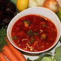 Image for Recipe: Vegetarian Borscht