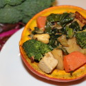 Image for Recipe: Thanksgiving Stuffed Baby Kaboucha Squash