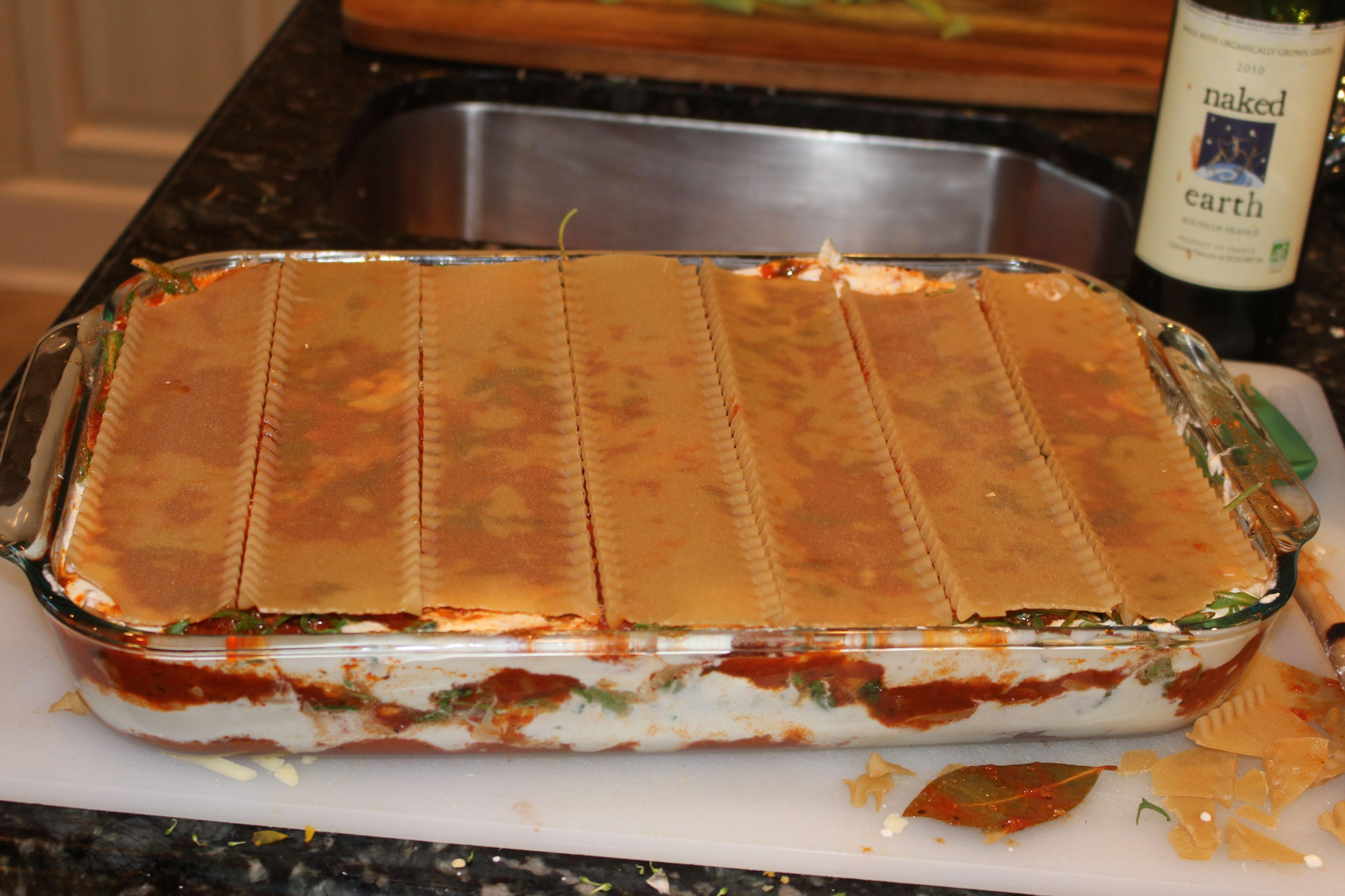 Recipe: Gluten-free Vegetable Lasagna