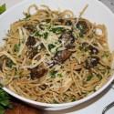 Image for Recipe: Spaghetti Carbonara ala Portobello Mushrooms