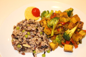 Recipe: Moroccan Tofu with Hot Sweet Peppers, Raisins, and Pistachio Nuts
