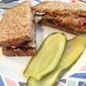 Image for Recipe: Tempeh Sauerkraut Chili Reuben