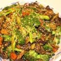 Image for Recipe: Braised Seitan with Shitake and Portobello Mushroom Medley
