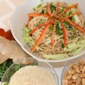 Image for Recipe: Spicy Brown Rice Sesame Noodles
