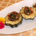 Image for Stuffed Squash with Tofu and Vegetables