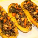 Image for Stuffed Delicata with Vegetables and Wild Rice