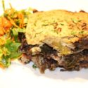 Image for Vegan Moussaka with Potatoes, Portobello Mushrooms and Chick Peas