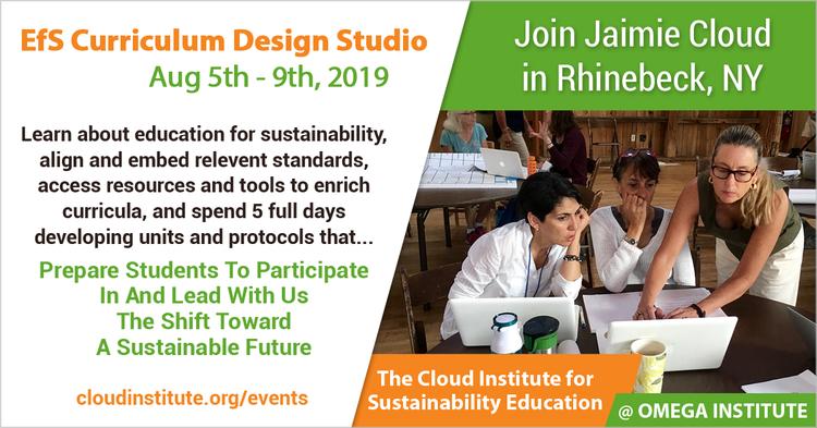 August 5th- 9th: Sustainability Curriculum Design Studio